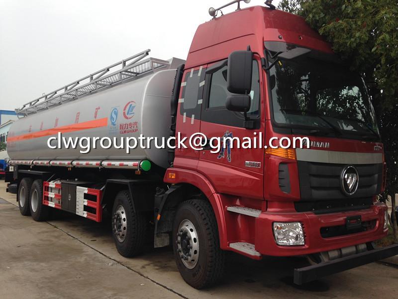 FOTON AUMAN 8X4 24000 Litres Fuel Tanker Sale 5