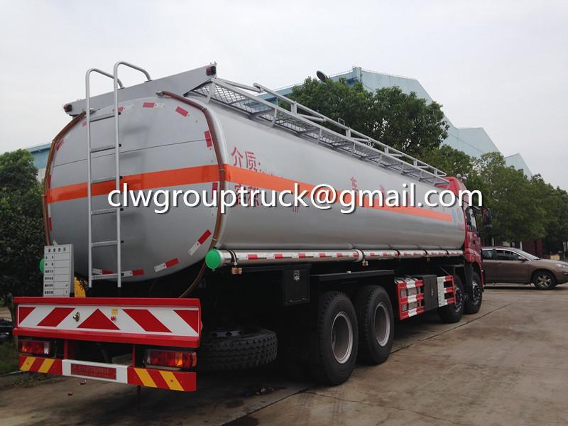 FOTON AUMAN 8X4 24000 Litres Fuel Tanker Sale 3