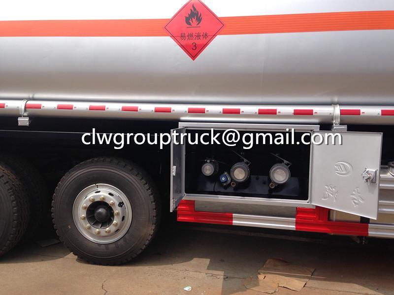 FOTON AUMAN 8X4 24000 Litres Fuel Tanker Sale 1