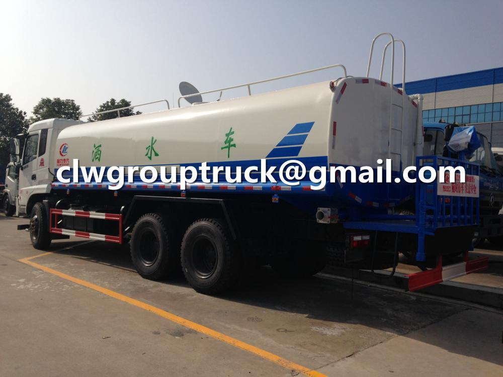 DONGFENG 6X4 LHD/RHD 18-25CBM Agricultural Water Sprinkler 2