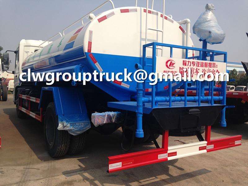 Dongfeng Tianjin 10000 Litres Water Tank Truck 4
