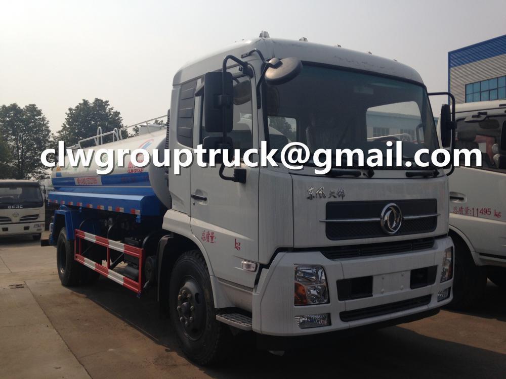 Dongfeng Tianjin 10000 Litres Water Tank Truck 2