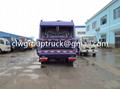 DFAC Duolika 6CBM Container Garbage Compactor Truck