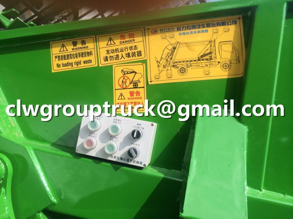 DFAC 6CBM Garbage Compactor Truck For Sale 2
