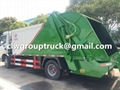 DFAC 6CBM Garbage Compactor Truck For