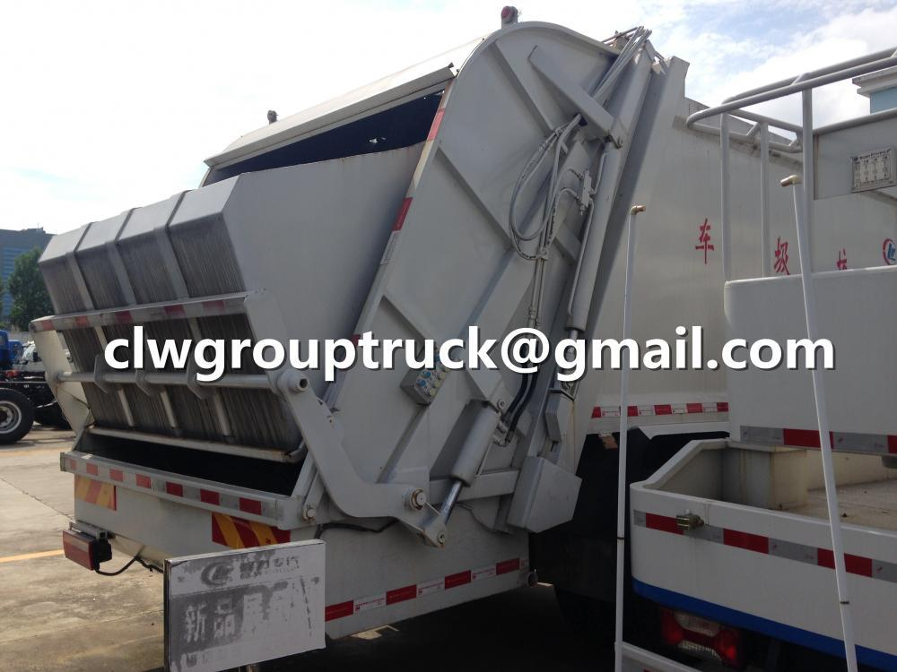 Dongfeng DLK Compactor Garbage Truck 1