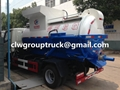 DFAC 8CBM Mobile Kitchen Waste Garbage