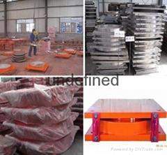 Top grade professional sliding pot bridge bearing