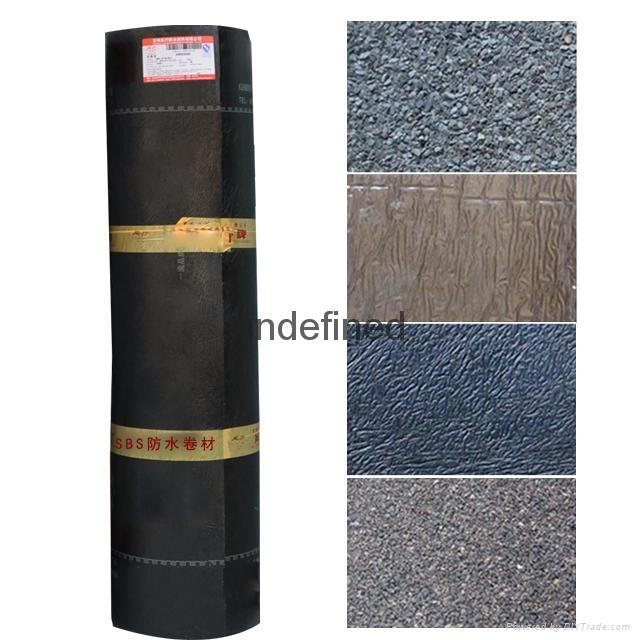 SBS Modified Bitumen Waterproof Membrane 1