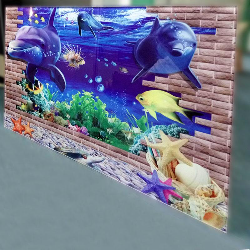 供应贵州3D背景墙多功能一体机 4
