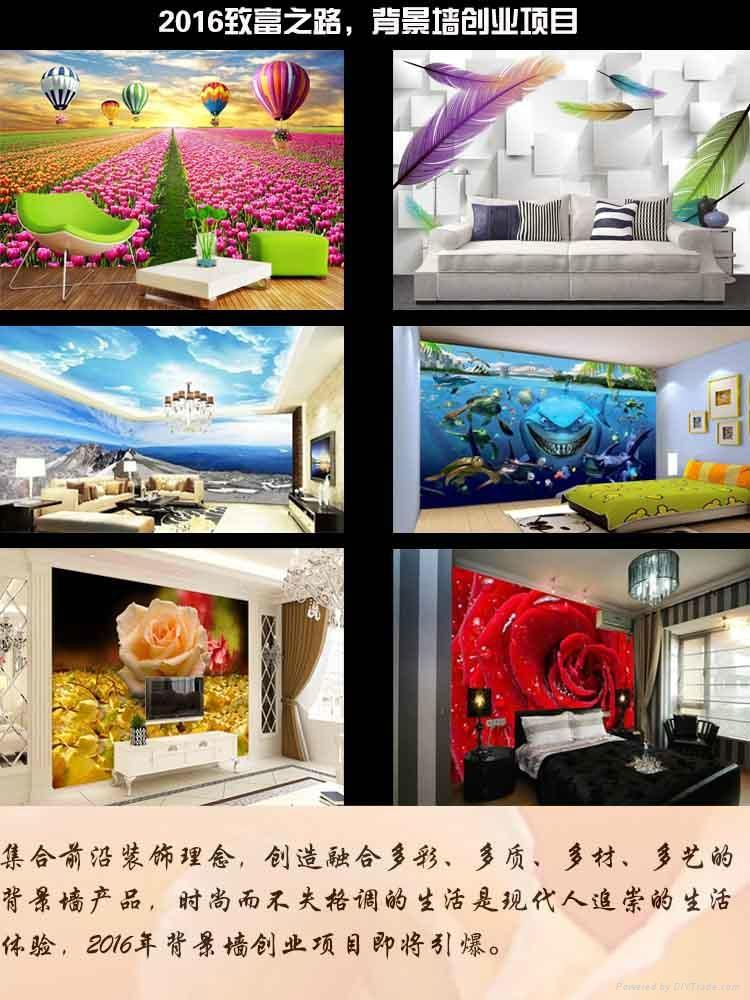 3D/5D立体效果装饰墙创业    5