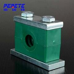 DIN 3015 Stauff standard Heavy Duty Carbon Steel Hydraulic Plastic Pipe Clamp