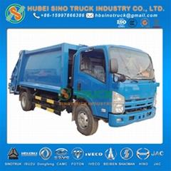 ISUZU 7cbm Waste Collector Truck