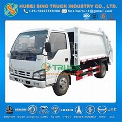 ISUZU 6cbm Garbage Compactor Truck