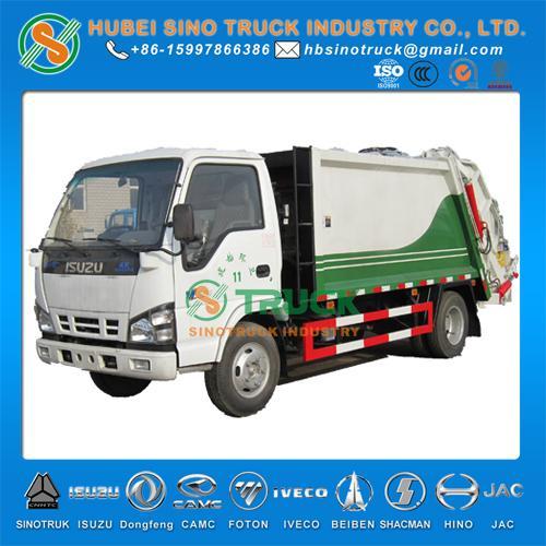ISUZU 5cbm Waste Collector Truck 1