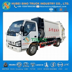 ISUZU 4-6CBM Garbage Compactor Truck EURO 5