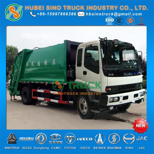 ISUZU 10cbm Waste Collection Truck 1
