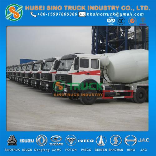 Beiben 6*4 12cbm Concrete Mixer Truck 3