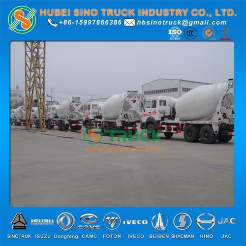 Beiben 6*4 12cbm Concrete Mixer Truck 1