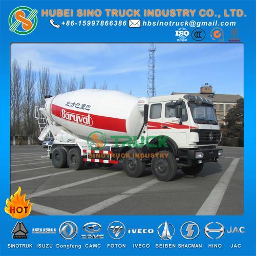 Beiben 16cbm Transit Mixer Truck 5