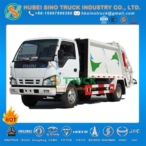 ISUZU 4cbm Waste Compression Truck 1
