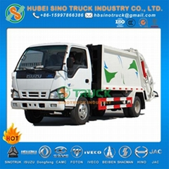 ISUZU 4cbm Waste Compression Truck