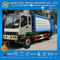 ISUZU 12cbm Refuse Compactor Truck