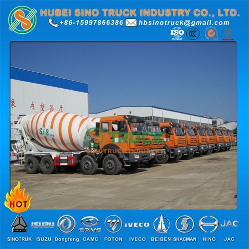 Beiben 14cbm Concrete Mixer Truck 5