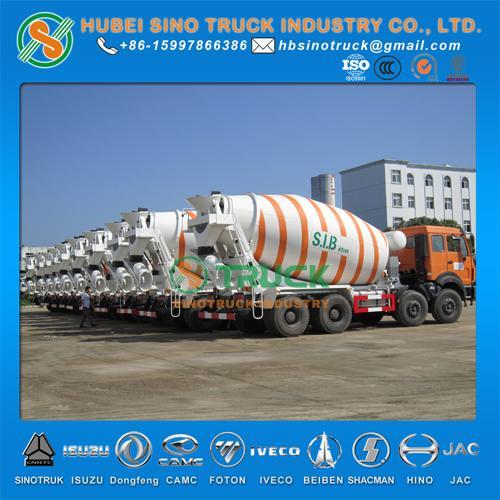 Beiben 14cbm Concrete Mixer Truck 1