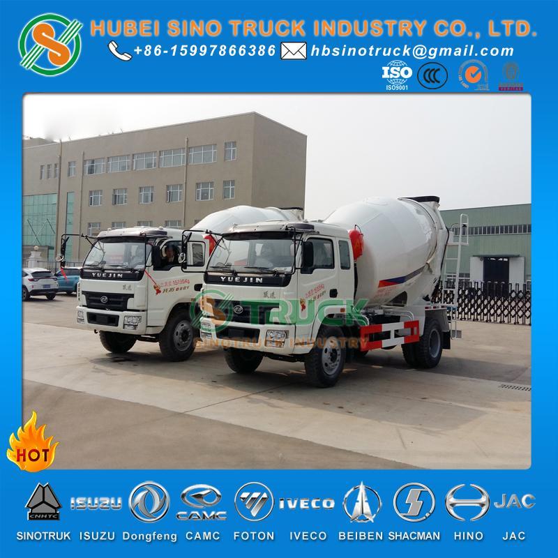 IVECO Yuejin 3cbm Concrete Mixer Truck 3