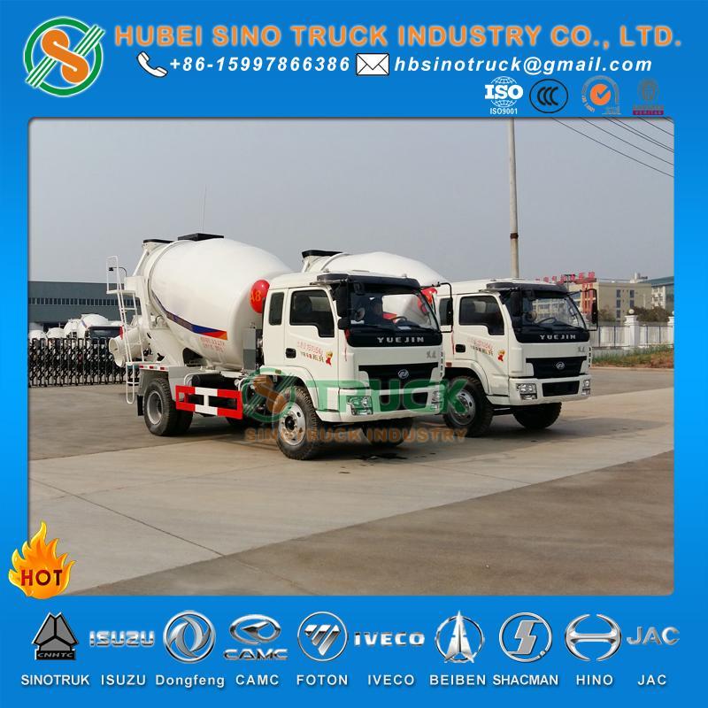 IVECO Yuejin 3cbm Concrete Mixer Truck 2