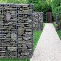 Welded Gabion Stone Fence Basket