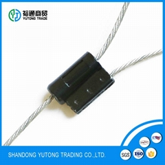 metal cable wire seal for shipping container packaged by cartons