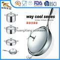 18/10 Stainless Steel Cookware Sets 8pcs