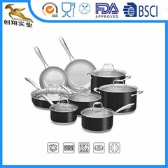Tri-Fly Stainless Steel Cookware Set 14pcs