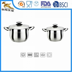 Cookware Pot Bottom Clad 81/10 Stainless Steel