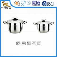 Cookware Pot Bottom Clad
