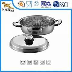 Stainless Steel Oval Roa
