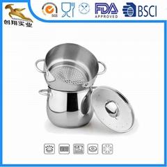 18/10 stainless steel kitchen utensils Steamer