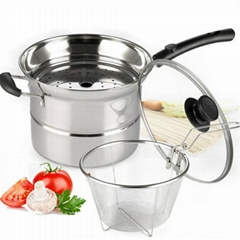 Stainless Steel Cookware pasta steamer set OEM