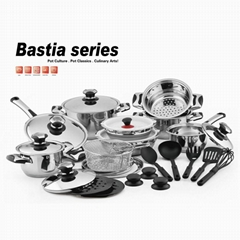 Stainless Steel Cookware Set Full 23Pcs OEM
