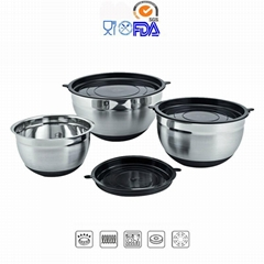Stainless Steel Cookware Salad Pot