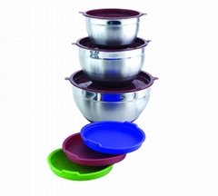 Stainless Steel Cookware Mixing Salad Pot