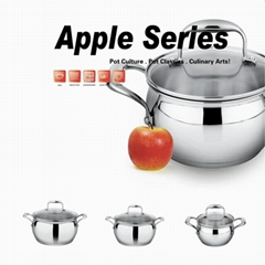 China Wholesale 18/10 Stainless steel Cookware Pot