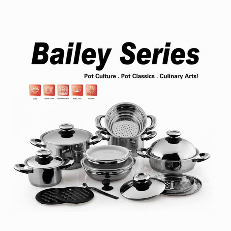 18 10 Stainless Steel Casserole Cookware Set Oem Cx Sc11