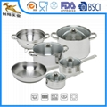 Stainless Steel Cookware Set 10pc