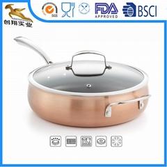OEM Copper Cookware 5qt