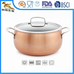OEM 3-Ply Copper Cookwar