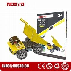 Dump truck 3D puzzle car