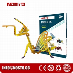 3D Jigsaw Puzzles Insect